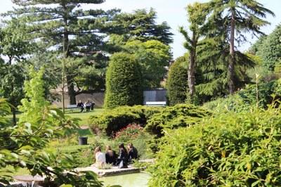 Le parc du Foyer de Cachan